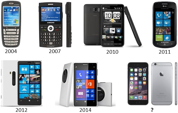 Windows phone os history